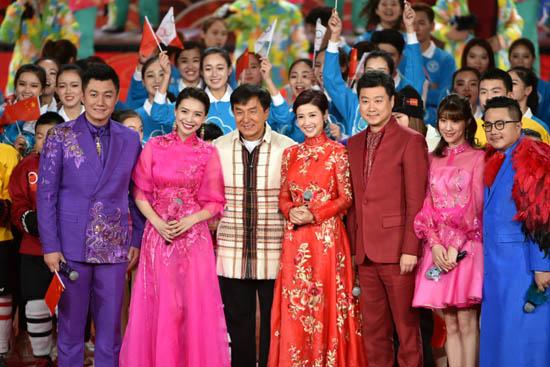 北京台鸡年春晚首次联排