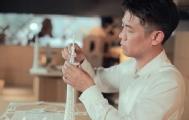 他用纸完美复刻出广州塔