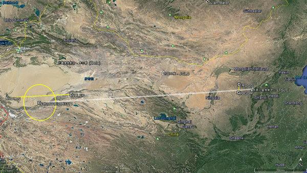 解放军试射东风41导弹 弹落面积比去年大21倍(图)