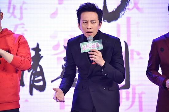 """邓超被邀上台成为电影""""四冠到位""""新海报的解读担当"""