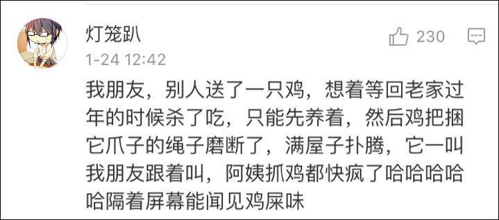 春节年货不敢杀的鸡鸭鹅鱼兔,最后是怎么解决的?