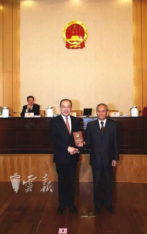 阮成发被任命为副省长、代理省长