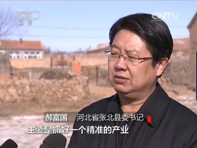 河北省张北县委书记 郝富国:中央的精准扶贫让老百姓受益匪浅,主要是抓好一个精准的产业。