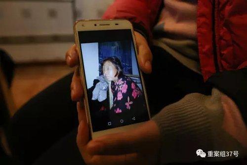 赵春华女儿王艳玲手机里母亲的相片。