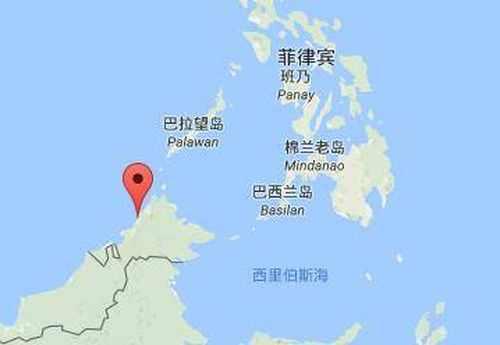 马来西亚巴沙环滩岛地图