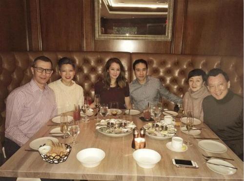 陈冠希及女友缺席家庭聚会