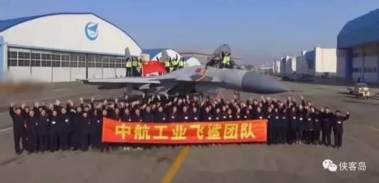 中国航空工业部门的资料显示,歼-15的批量生产也在有序进行中