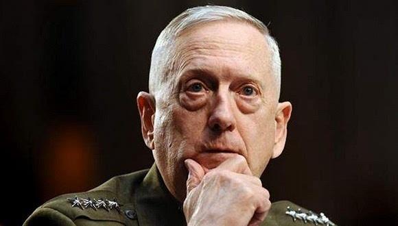 图为美国新任防长。