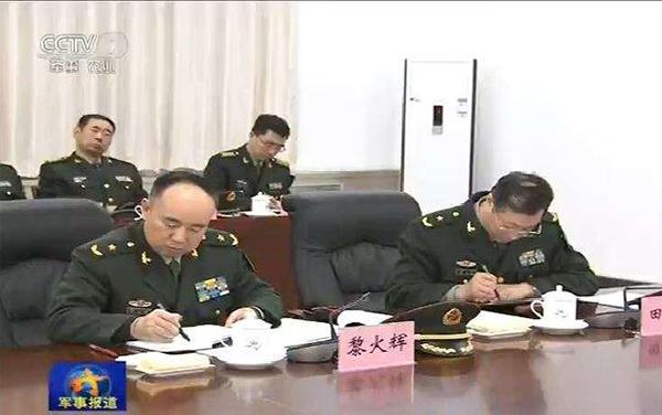黎火辉少将升任军委训练管理部部长 曾挂帅31军