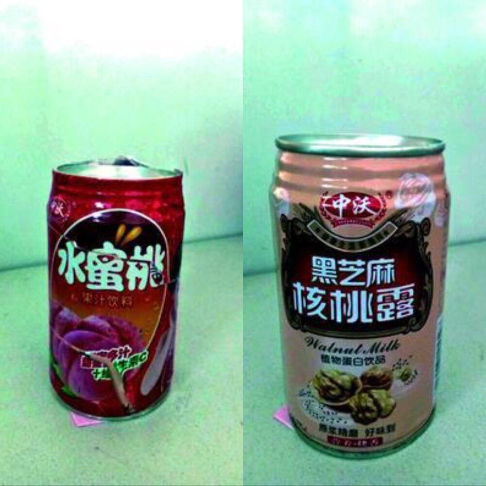 该品牌饮料的生产厂家表示,他们公司有专门的易拉罐供货商,从来不使用回收的旧易拉罐,更不会用在旧易拉罐上贴塑料纸的方式包装产品。这罐饮料应该是冒牌货。