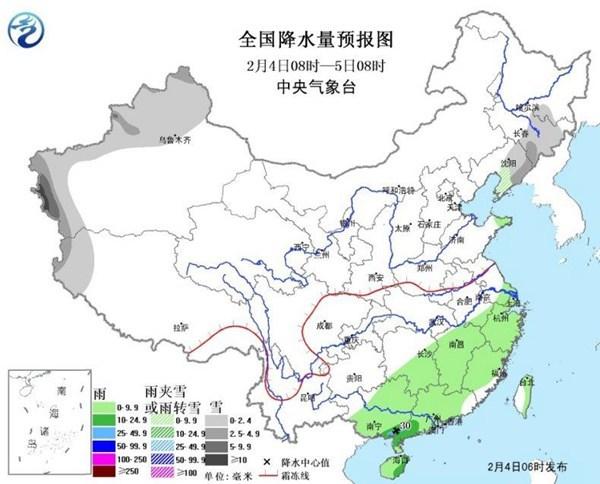 另外,今天南方的降雨区域将东移,预计江南大部、华南大部等地有小雨,局地中到大雨。而四川盆地到贵州、湖南中北部和湖北等地的部分地区有望拨云见日。
