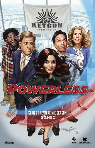《无能为力》(Powerless):没有超能力也能有所作为