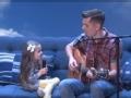 《艾伦秀第14季片花》第九十五期 网红小歌手无视艾伦 与爸爸合唱《我是你朋友》