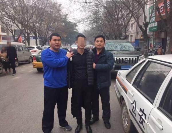 犯罪嫌疑人陶永某被抓获。 警方供图