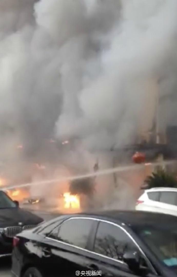 浙江足浴店起火致18死2伤:或因汗蒸房地暖爆炸