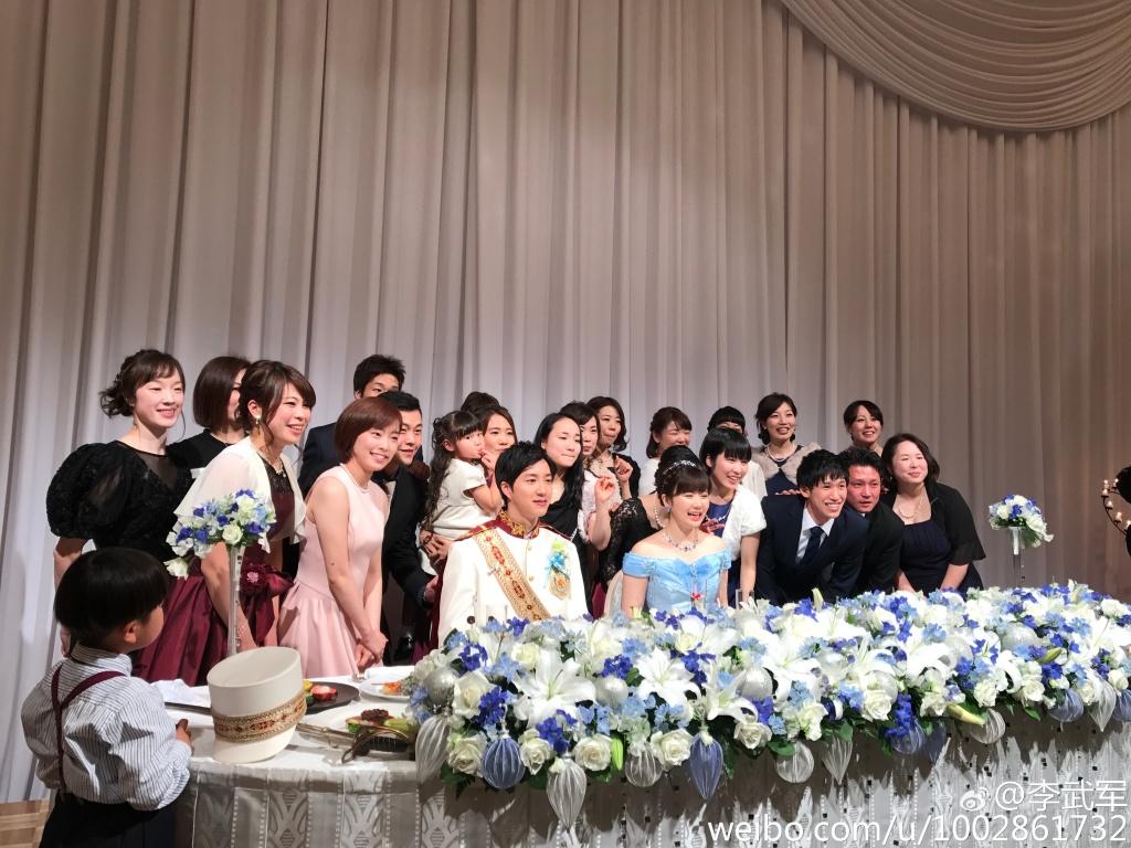 福原爱与江宏杰在日本迪士尼举行婚礼