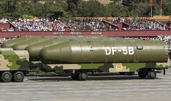 东风5B导弹。