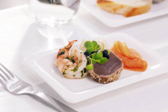 新西兰新鲜食材打造精美餐食