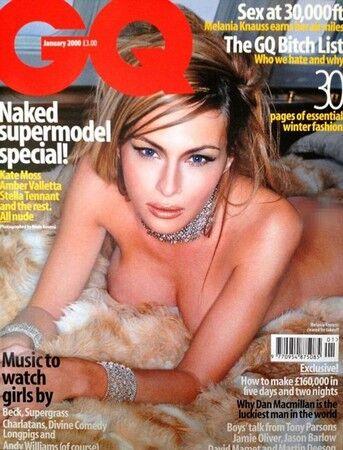 梅拉尼娅2000年为英国版《GQ》拍摄照片