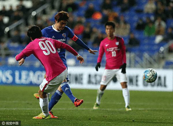 Afc champions - steel 3-0 promotion will fight suning Ulsan narrowly kitchee into the race