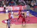 CBA视频-弗雷戴特接球超远3分命中 上海VS八一