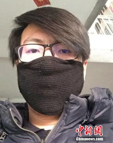 图为网络写手刘星辰。受访者供图