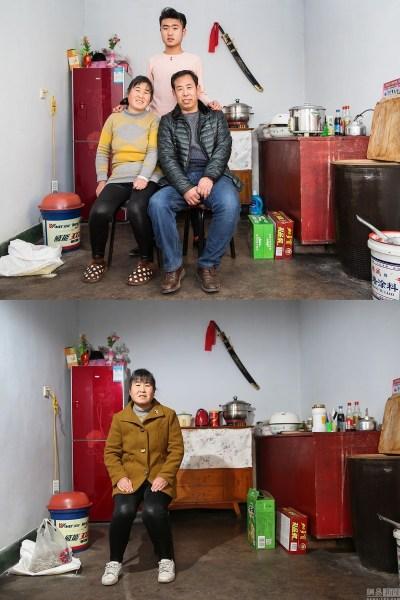 2017年2017年2月4日,河北张家口宣平堡村,韩振芸一家的百口福。儿子越长越高,房价越涨越高,丈夫的成衣手工在村落里发挥不开两年前往200千米外的北京打工赢利给儿子买房,儿子在30千米外的张家口郊区念书。一年罕见有团圆的时辰,团圆时刻仍是那末的短暂。2月7日(下图),韩振芸单独由家中。
