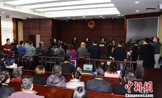 上海重生儿资讯销售案一审9日在浦东法院宣判。图为庭审现场。