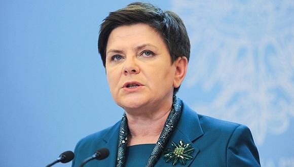 波兰总理贝娅塔・希德沃。图片来源:视觉中国