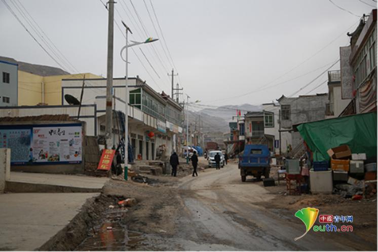 2017年2月5日,春节期间的甘肃岷县小寨村。中国青年网记者 孙钊 摄