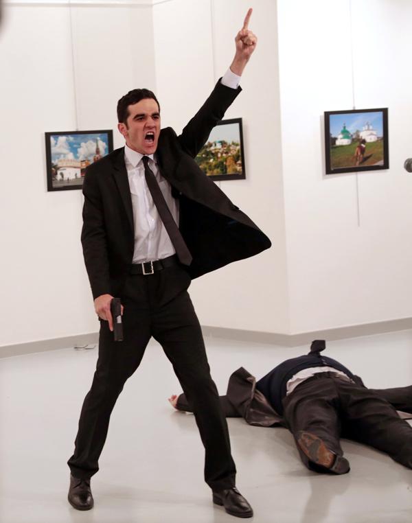 土耳其刺杀,Burhan Ozbilici,美联社