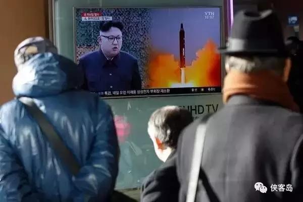媒体:朝鲜跟特朗普第一次通话 是通过导弹完成的