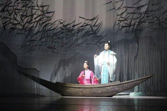 现场剧照 杨丽雅演唱古曲《蒹葭》