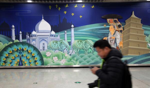 西安地铁再回应玄奘壁画争议:若设计失误将修