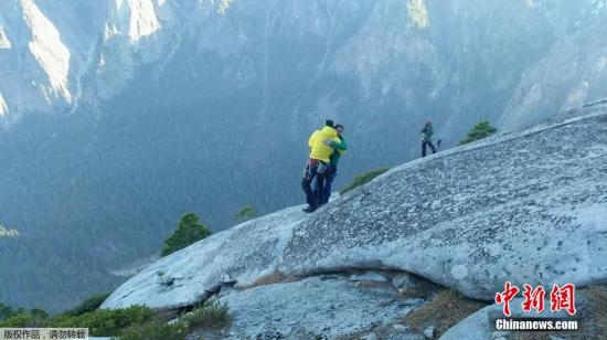 资料图:位于内华达山脉的优胜美地谷。