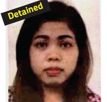 涉嫌刺杀金正男而遭逮捕的印尼女子
