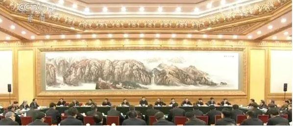 中央国家安全委员会成员首次出镜。 截屏图