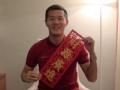 视频-黄博文初五扮财神 望球迷关注恒大亚冠表现