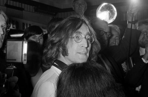 资料图:约翰・列侬。