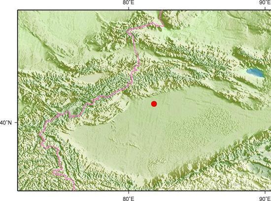 新疆阿克苏新和县发生3.0级地震 震源深度9千米