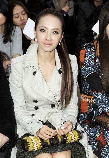 蔡依林2012年出席伦敦时装周