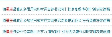 人民检察院案件信息公开网网页截图
