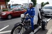 奇葩:一辆有味道的摩托车