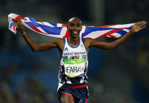 英国著名长跑运动员,4枚奥运会金牌得主莫・法拉。