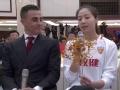 视频-女排国手魏秋月赠糖画 卡帅畅谈球队未来