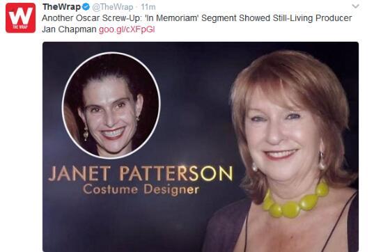 简・查普曼和珍妮特・帕特森弄混了