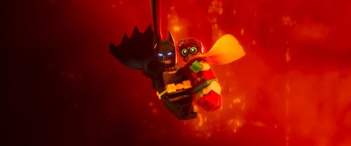蝙蝠侠罗宾一起上阵