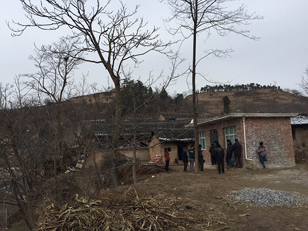方未社现在居住的新房是村委会找人在10天里建起来的 澎湃新闻记者 陈雷柱 图