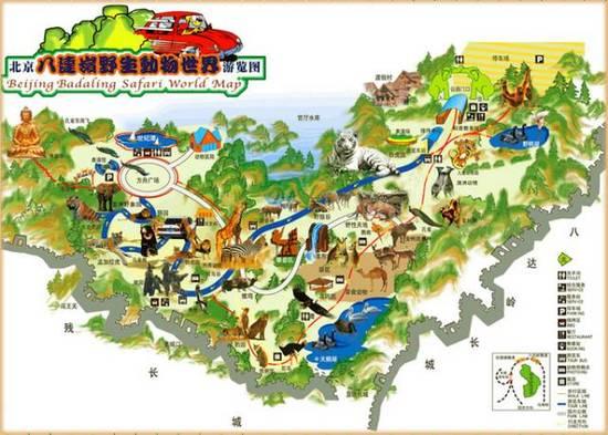 事发动物园游览图 图据动物园官网