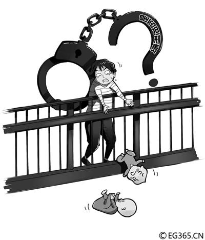 2月27日晚,天津大悦城南开店4楼中庭,两个孩子坠楼当场身亡。两个孩子,大的四五岁,小的两三岁,事发时两名幼童被父亲同时抱着在商场四楼栏杆处看夜景。结果,一个孩子跌落,父亲条件反射去抓,非但没有抓住,怀里的另一个也坠落了。律师王优银认为,家长是否有刑事责任要根据具体的情况来分析,目前来看,第二个孩子的死亡中家长要负担刑事责任的可能比较大。